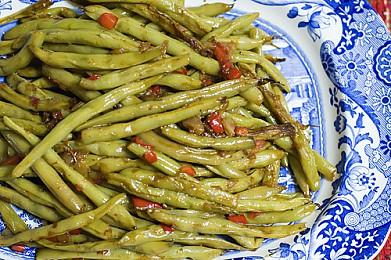 Зелёная стручковая фасоль - рецепт Постное блюдо