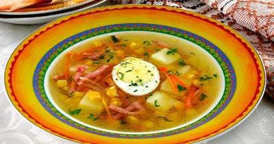 супы разные рецепты с фото