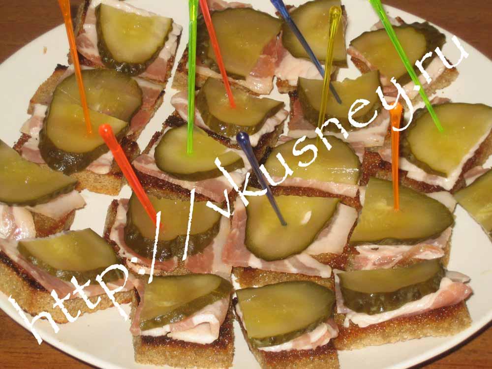 Простые бутерброды на праздничный стол рецепты простые канапе на