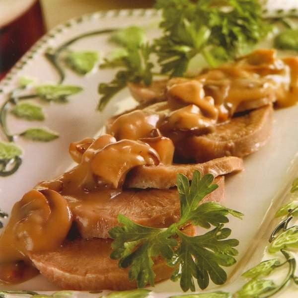 Язык грибы рецепт