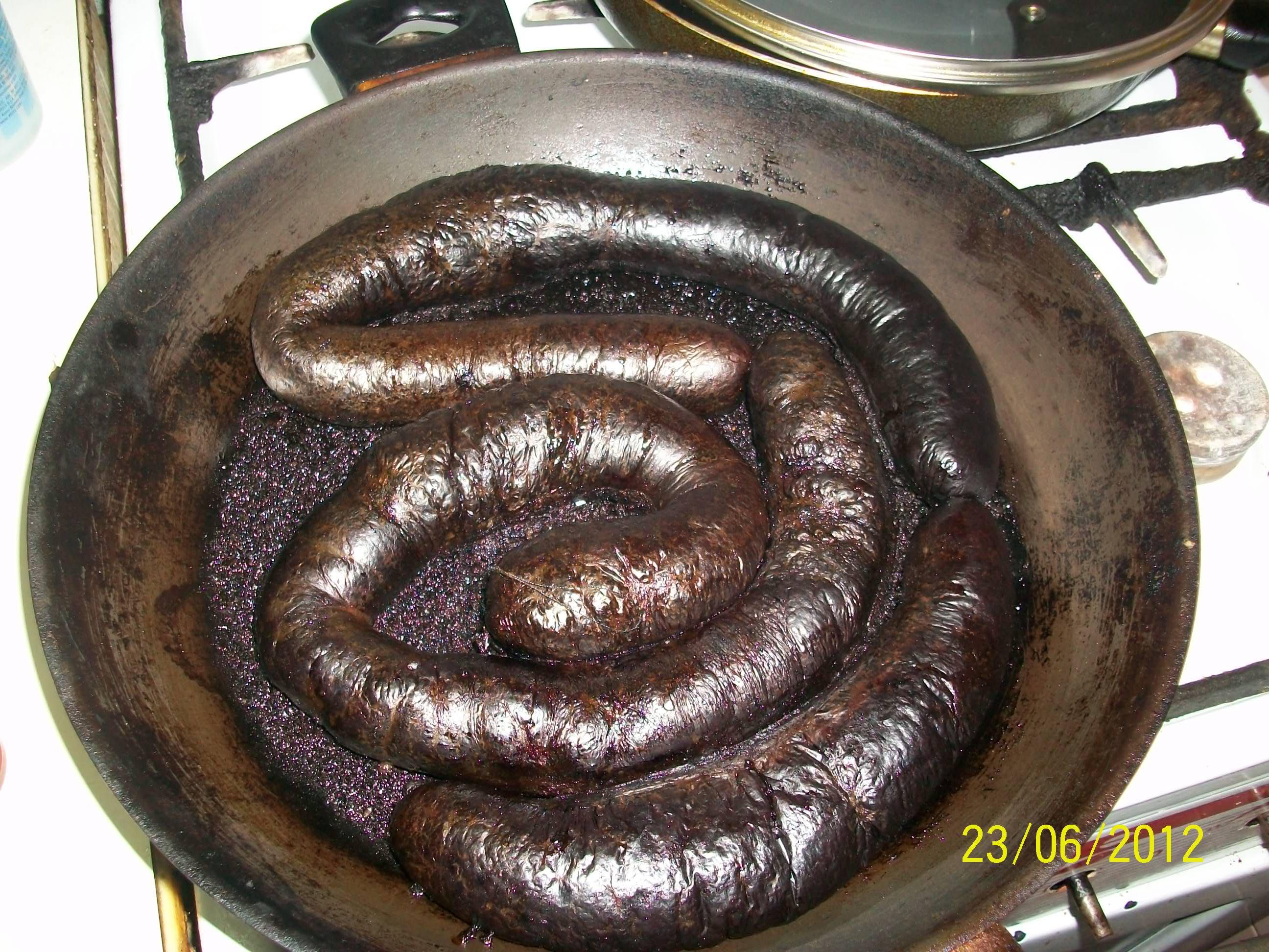 Как сделать кровяную колбасу в домашних условиях фото
