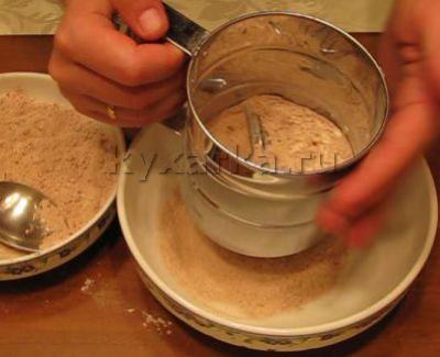 Рецепт бисквитного торта высокого