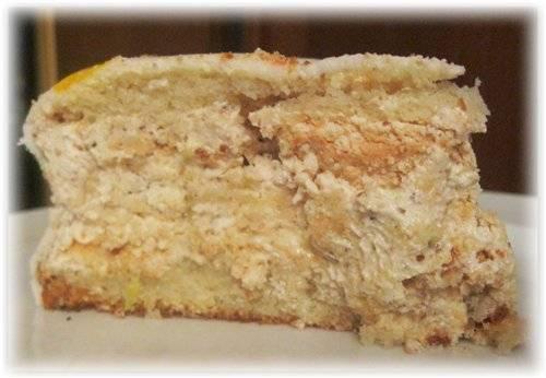Рецепт торта с клюквой с фото
