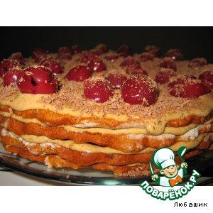 рецепт жидкое тесто для медового торта