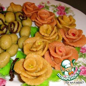 рецепт марципана для торта