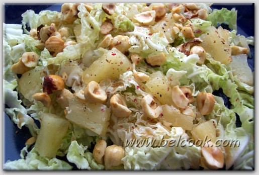 салат с языком и ананасом рецепты
