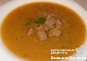 Суп с мясом из кабачков рецепт