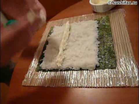 Как сделать темпура роллы в домашних условиях пошагово с