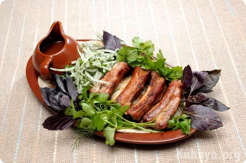свиных ребер Рецепты шашлыка из