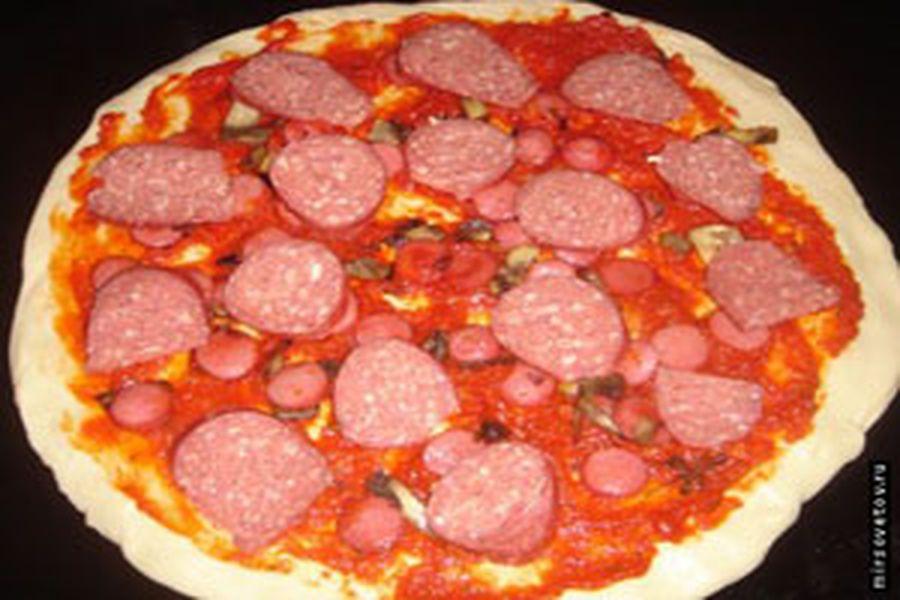 Пицца как сделать пошаговое фото 228